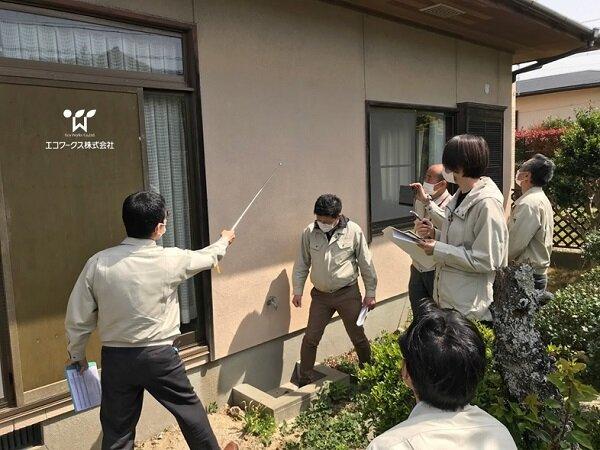 現場研修~チームによる構造検討会~